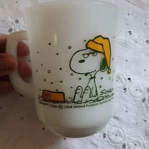 Vintage Snoopy Coffee Cup